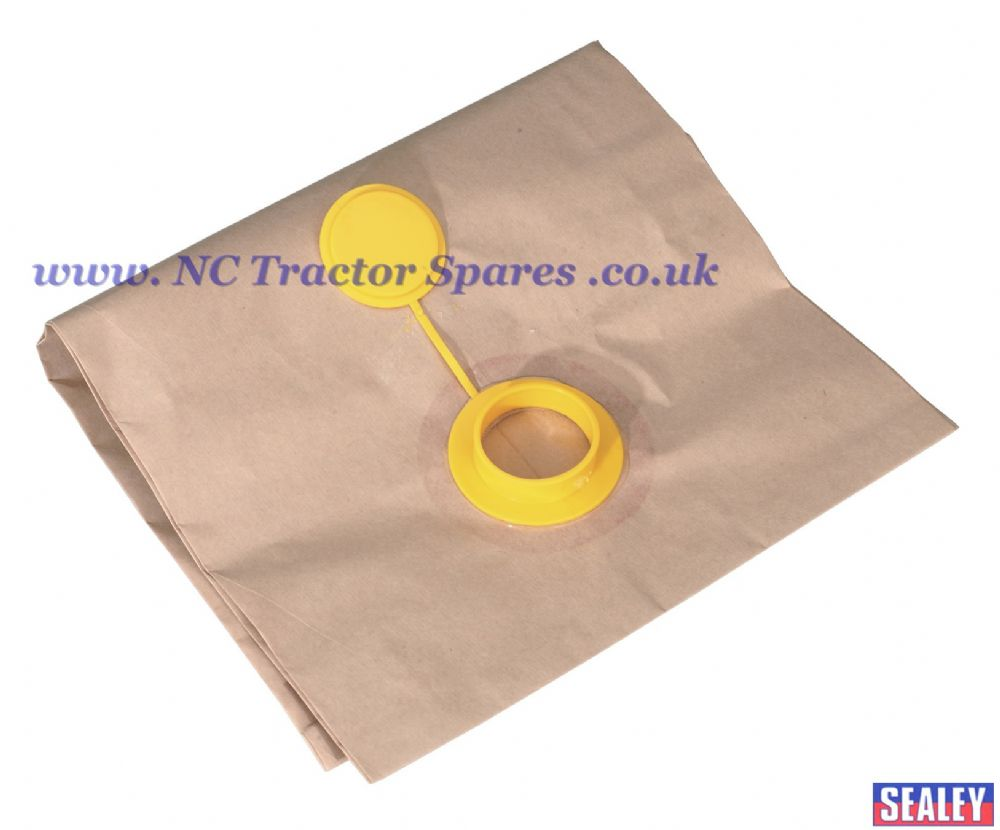 Disposable Tie Up Dust Bag for DFS91A/DFS91B Pack of 5